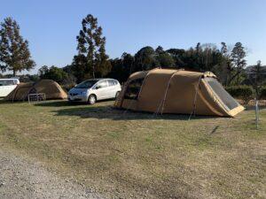 オートキャンプユニオン 区画