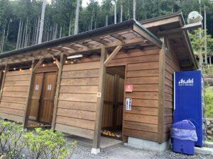 喜多川キャンピングベース トイレ