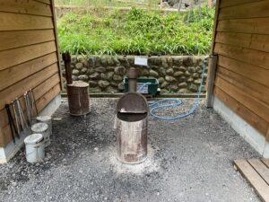 喜多川キャンピングベース 炭場