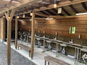 喜多川キャンピングベース 洗い場